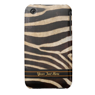 Zebra Stripe Fur 3G Barely There - Personalize iPhone 3 Case