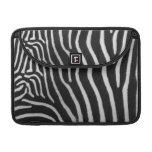 """Zebra Stripe Pattern 13"""" MacBook Sleeve MacBook Pro Sleeves"""