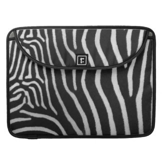 """Zebra Stripe Pattern 15"""" MacBook Sleeve Sleeves For MacBook Pro"""