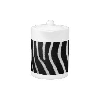 Zebra Stripe Pattern Teapot