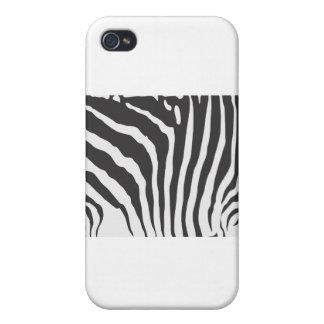 Zebra Stripe Pern iPhone 4 Covers