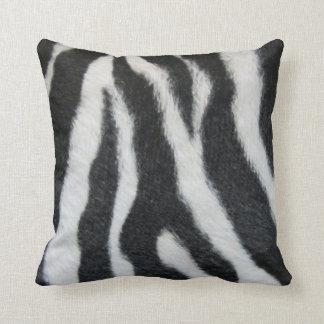 Zebra Stripe pillow by RT STONE Pop Art