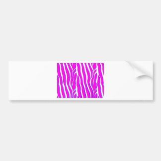 zebra_stripe.png bumper sticker