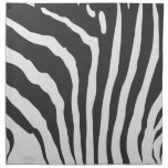 Zebra Stripe Print Pattern - Custom Paper Napkins