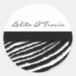 Zebra Stripe Stickers