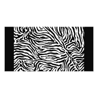 Zebra Stripe Swirls Pattern backgrounds fashion Card