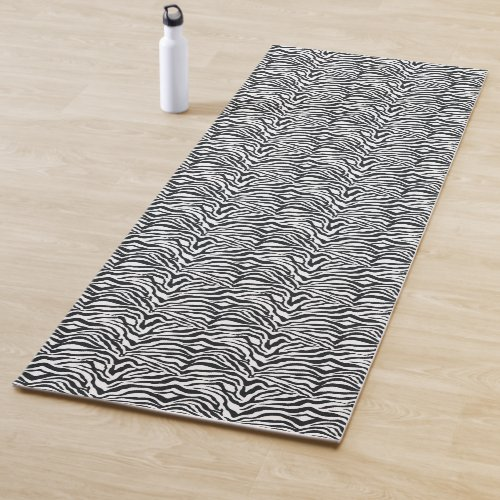 Add a Zebra Yoga Mat to Your Zebra Decor