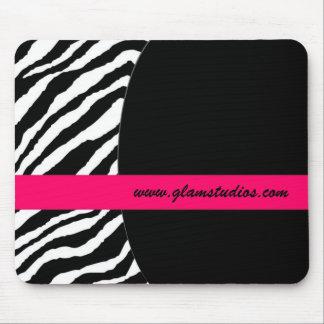 Zebra Striped Mousepad
