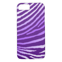 ZEBRA STRIPES: AMETHYST iPhone 8/7 CASE