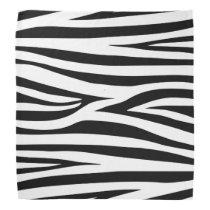 zebra stripes,animal print bandana