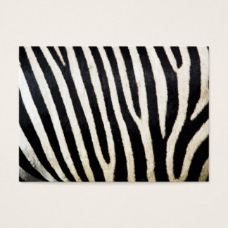 Zebra Stripes Background Pattern Business Card