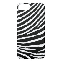 ZEBRA STRIPES: BLACK and WHITE iPhone 8/7 Case