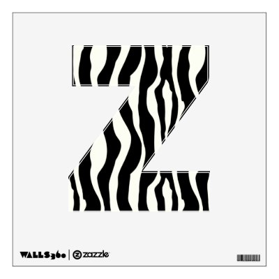 Cute Cartoon Zebra Rainbow Wall Decal Zazzlecom - Zebra stripe wall decals