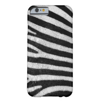 Zebra stripes black & white texture photograph barely there iPhone 6 case