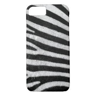 Zebra stripes black & white texture photograph iPhone 7 case