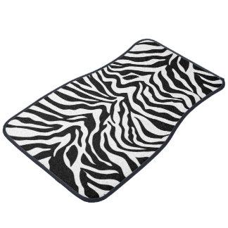 Zebra Stripes Car Mats