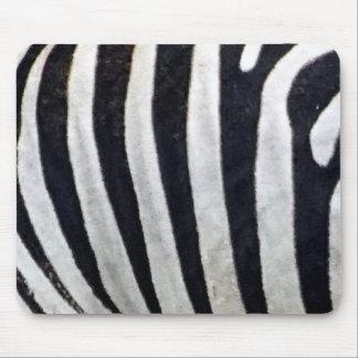 Zebra Stripes Close Up Mousepad