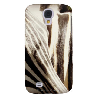 "Zebra ""Stripes"" Galaxy S4 Cover"