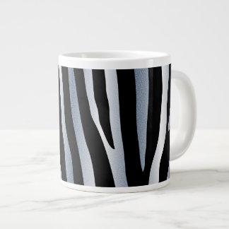 zebra stripes giant coffee mug
