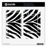 """""""Zebra Stripes"""" HTC Inspire 4G Decal"""