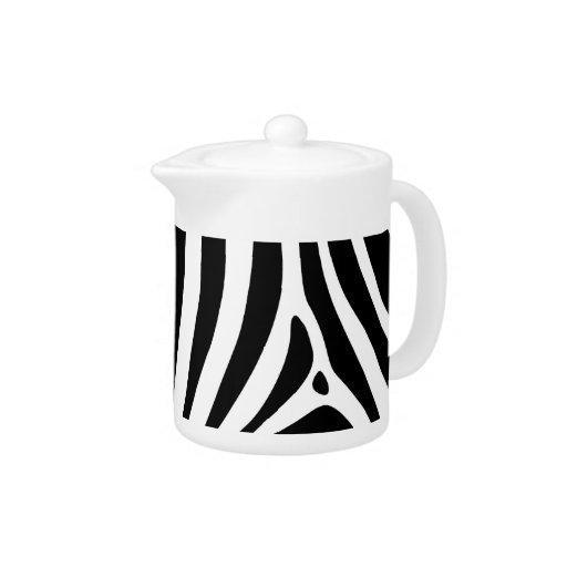 Zebra stripes in black and white pattern design