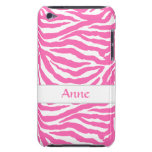 Zebra Stripes In Hot Pink On iPod Touch Case-Mate
