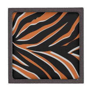 Zebra Stripes in Orange Premium Gift Boxes