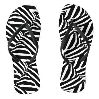 ZEBRA STRIPES.jpg Flip Flops