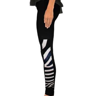 Zebra stripes legging