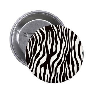 Zebra Stripes Mix & Match Collectables - Button