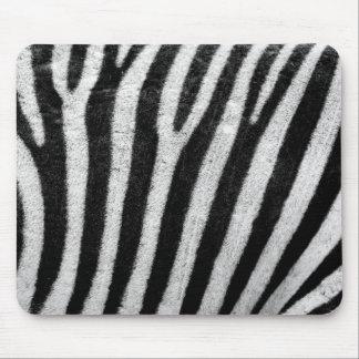 Zebra Stripes Mouse Pad