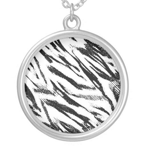 Zebra Stripes Necklace