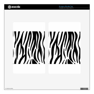 zebra stripes pattern decals for kindle fire