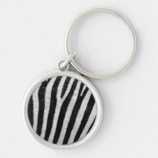 Zebra Stripes Pattern Keychains
