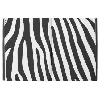 Zebra stripes pattern + your background & ideas iPad pro case