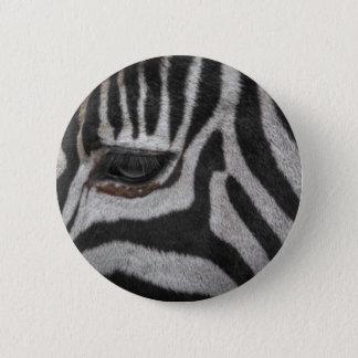 Zebra Stripes Pinback Button