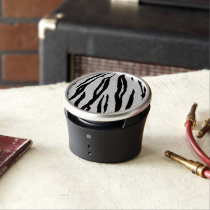 Zebra Stripes Portable OrigAudio Bumpster Speaker