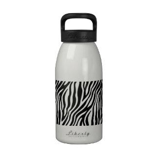 Zebra Stripes Print Water Bottles