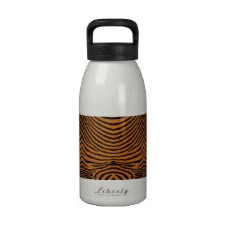 ZEBRA STRIPES: TIGER GOLD TigerGoldZebraMUG Drinking Bottles