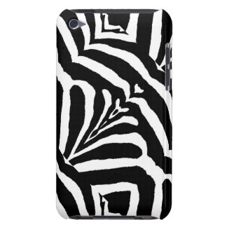 ZEBRA STRIPES TOO! (a black & white design) ~ iPod Touch Covers