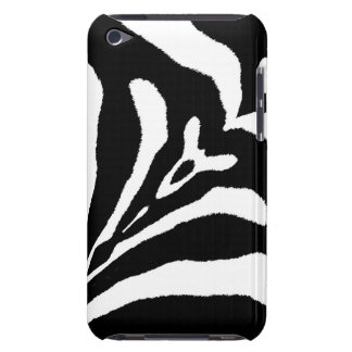 ZEBRA STRIPES TOO! (a black & white design) ~ Barely There iPod Cases