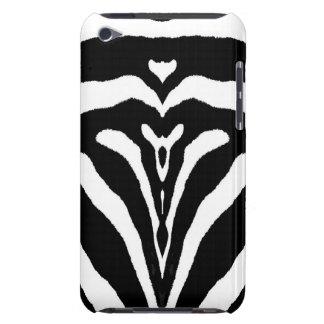 ZEBRA STRIPES TOO! (a Black & White design) ~ Case-Mate iPod Touch Case