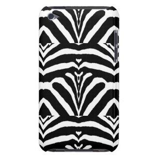 ZEBRA STRIPES TOO! (a black & white design) ~ iPod Touch Case