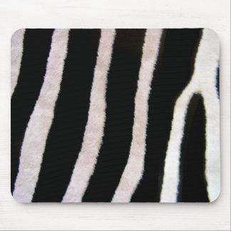 Zebra Stripes Wildlife Animal Skin mouse pad art