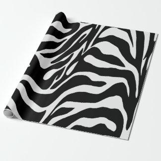 Zebra Stripes Wrapping Paper