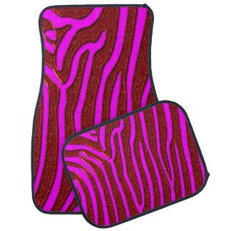 Zebra Stripes Car Mat