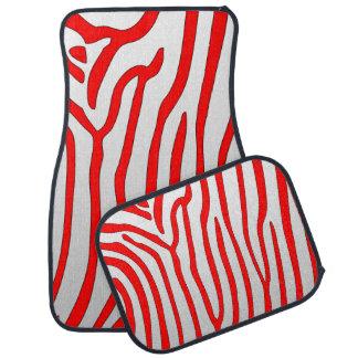 Zebra Stripes Floor Mat