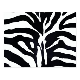 Zebra Style Post Cards