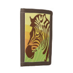 Zebra Sunrise Trifold Wallets