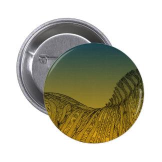 Zebra Sunset Design Button